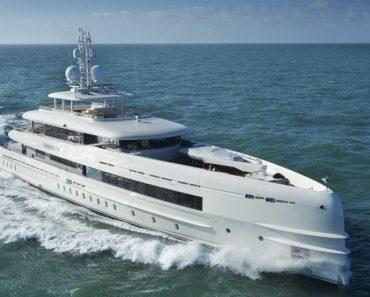A Closer Look at the Heesen Yacht Sibelle