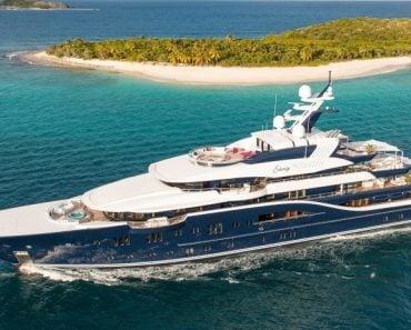 A Closer Look at Lurssen's Solandge Yacht