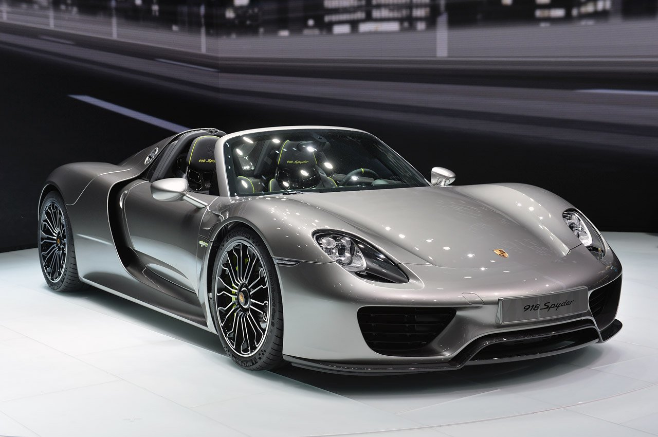 The History And Evolution Of The Porsche 918 Spyder