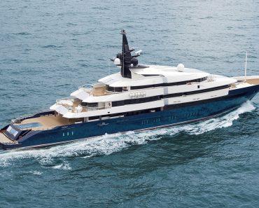 A Closer Look at Steven Spielberg's Yacht Seven Seas