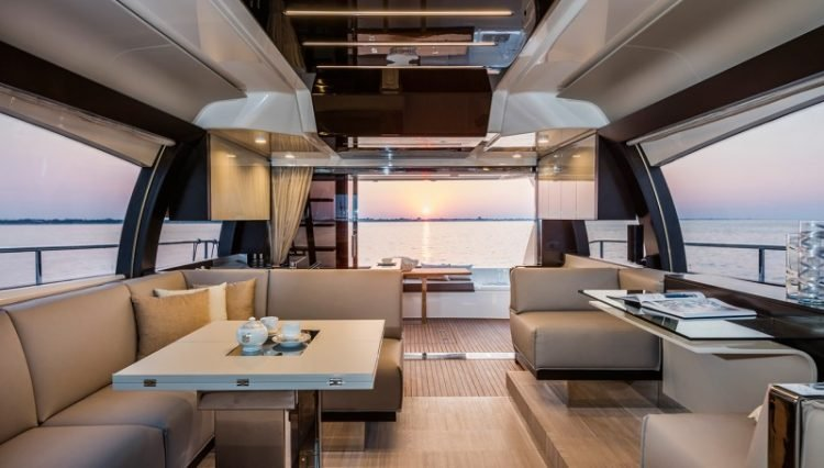 The Ferretti Yacht 550 Is Small In Stature But Feels Like