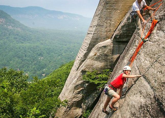 rock-climb-at-chimney-rock-state-park