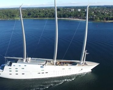 A Closer Look at the $450 Million Sailing Yacht A