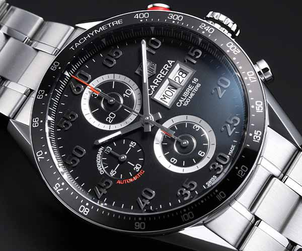 eb0d26922e86 Tag Heuer Carrera Chronograph Automatic Mens Watch – $4,824