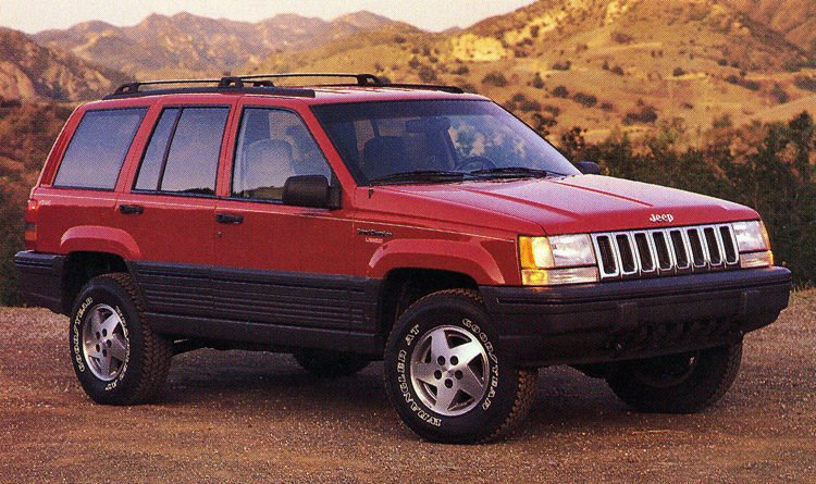 The Top Five Jeep Grand Cherokee Models Of All Time