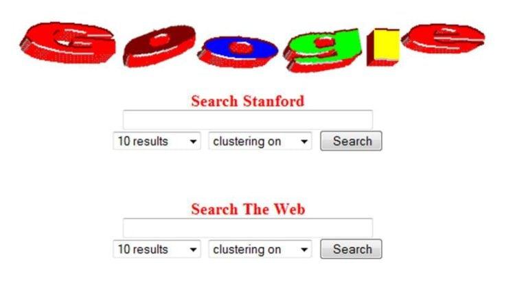 1997 Google Logo