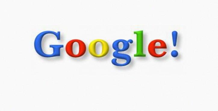 Google Logo in 1998