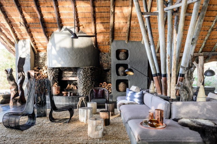 Singita Boulders Lodge Lounge - Safari Destination