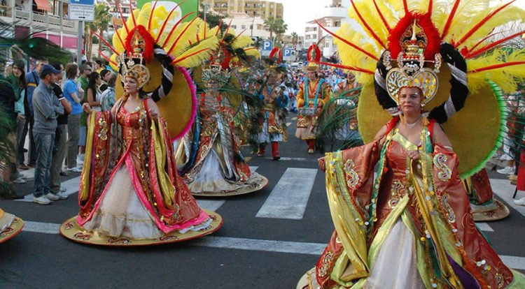 Canary Islands Festival Of The Christmas