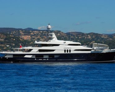 A Closer Look at U2 Frontman Bono's Yacht Cyan