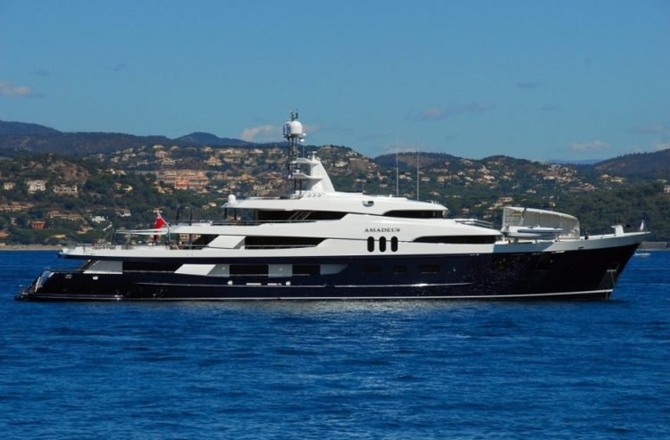 Bono's Yacht Cyan