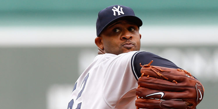 Yankees Pitcher C.C. Sabathia