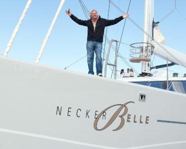 A Closer Look at Richard Branson's Yacht Necker Belle