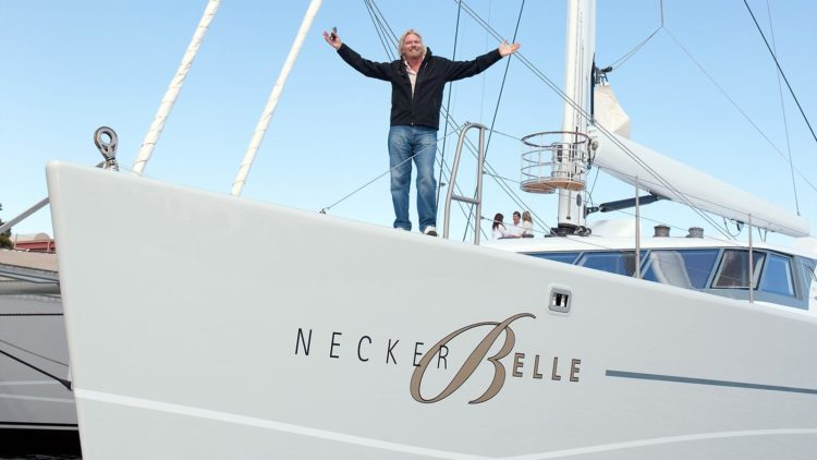 Richard Branson - super yacht