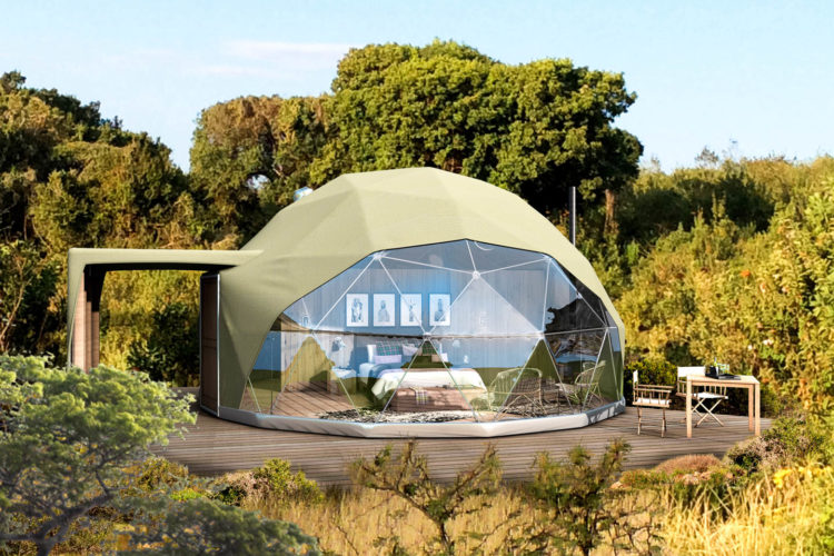 The Highlands Camp Exterior Dome Timbuktu Travel new lodges in africa