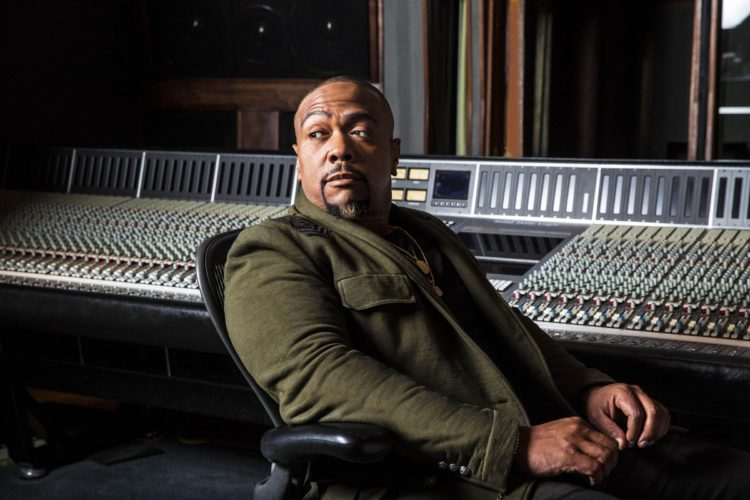 Rapper and Musician Timbaland