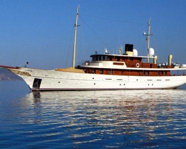 A Closer Look at Johnny Depp's Yacht Amphitrite
