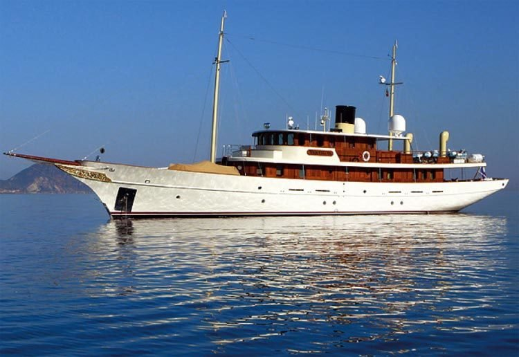 Johnny Depp's Yacht Amphitrite