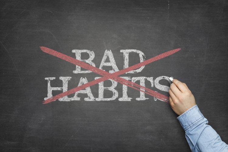 breaking a bad habit