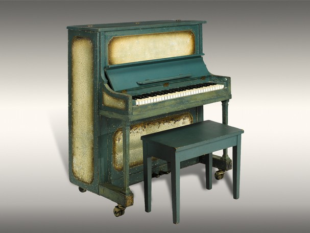 It Was Designed Using Striking Golden Brown And Tans For The Color Palette Is One Of Most Elegant Pianos Ever Made