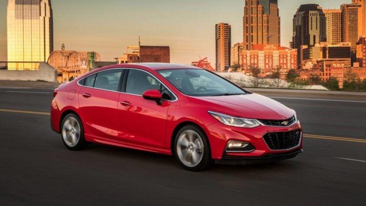 2017 Chevrolet Cruze Starting Price 16 975