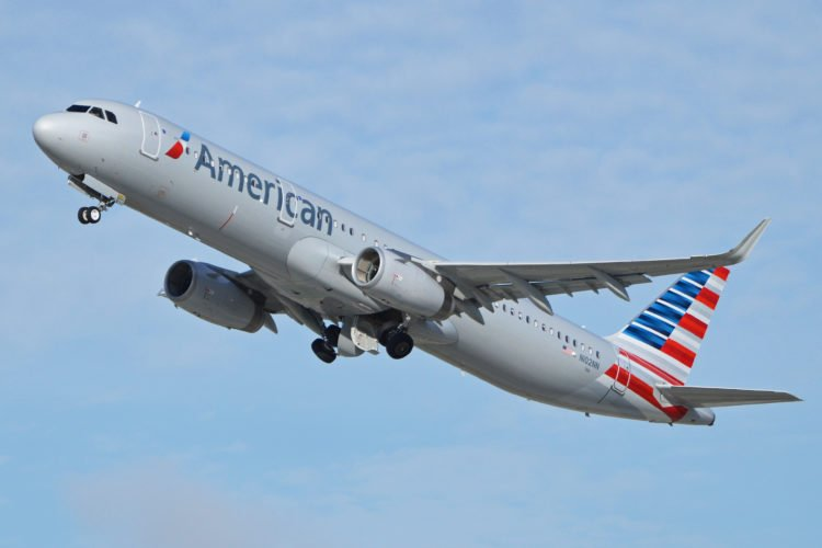 American Airlines Airbus