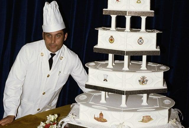 Attractive Princess Dianau0027s Wedding Cake U2013 $40,000