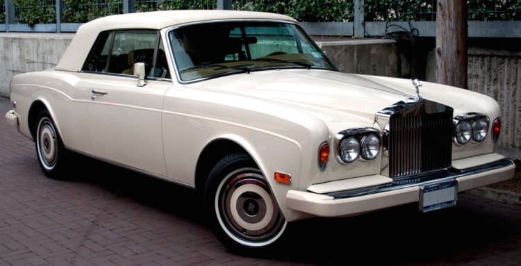 1970 1971 Rolls Royce Silver Spirit Wraith Corniche Coupe Original Brochure