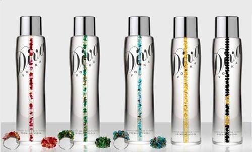 Diva Vodka Top 10 chai rượu Vodka đắt nhất mọi thời đại
