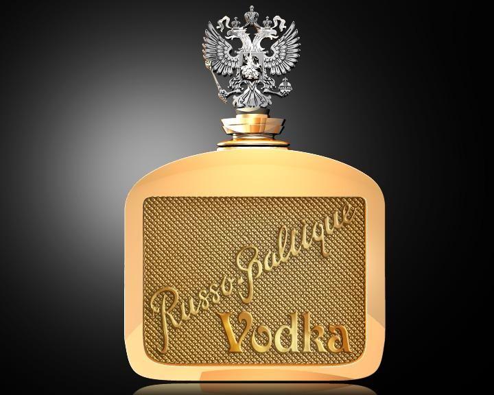 Russo Baltique 2 Top 10 chai rượu Vodka đắt nhất mọi thời đại