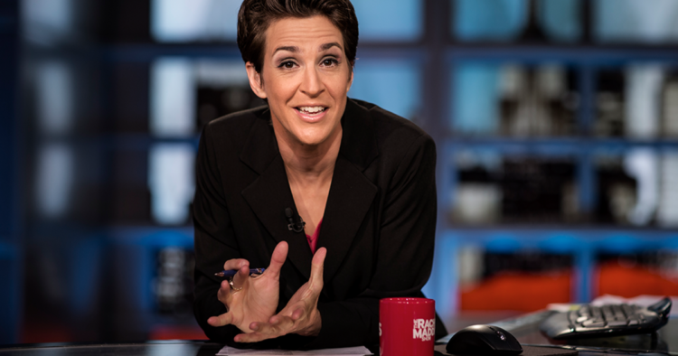 News anchor Rachel Maddow