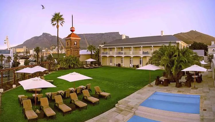 The top five rated luxury cape town hotels for Top rated boutiques