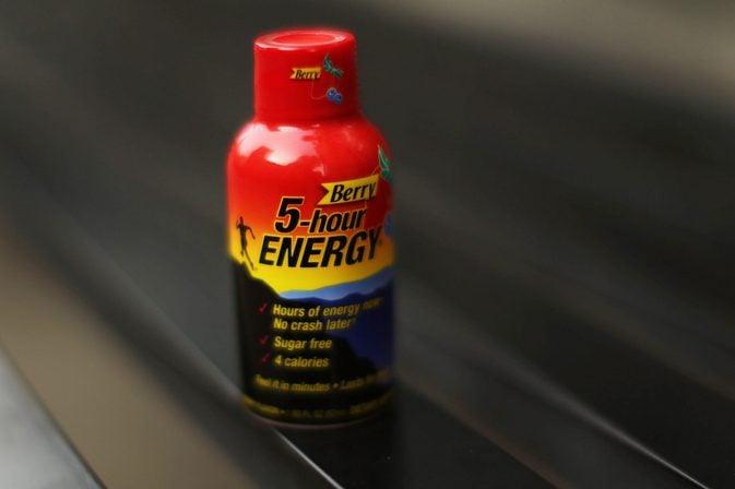 Hour Energy Drink Caffeine Mg