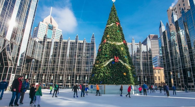 Christmas Ice Skating Rink Decoration.Seven Of The Coolest Places To Ice Skate In The U S
