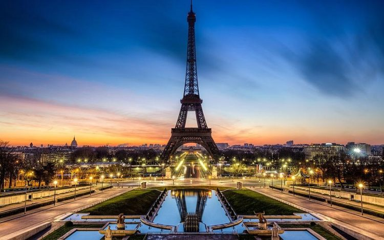 the five best 5 star hotels in paris france