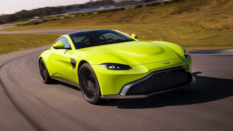 The 2019 Aston Martin Vantage Has A Bold New Look