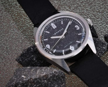 The Igneous Santa Maria: A Watch With a Dial Made of Magmatic Rock