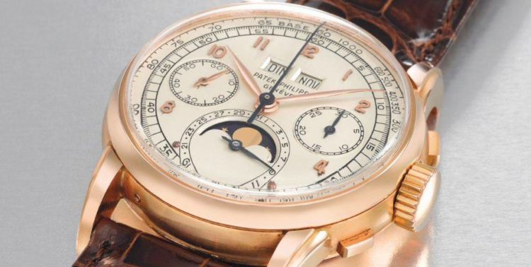 Patek-Philippe-Perpetual-Calendar-Chronograph-Wristwatch-in-Pink-Gold