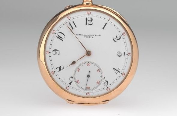 Patek Philippe Pink Gold Pocket Watch 1894