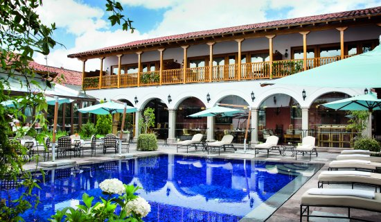 Located Less Than A Five Minute Walk From Lima S Plaza De Armas The Owners Of Belmond Palacio Nazarenas Have Taken 16th Century Nun Convent And