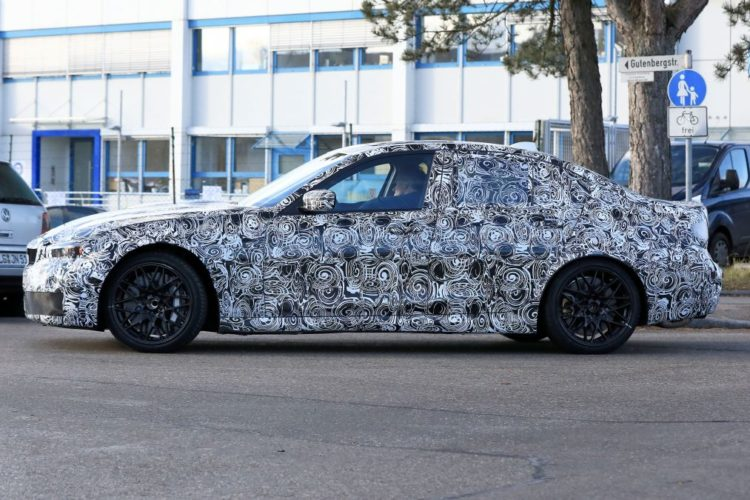 The 2020 Bmw M3 Is Beginning To Come Together