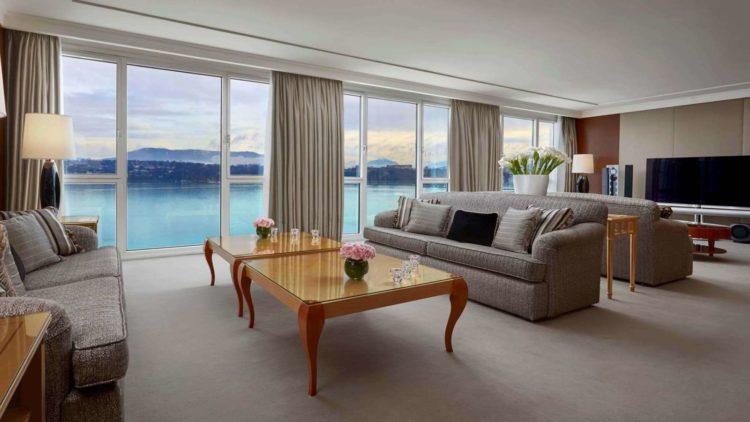 The top five luxury hotels in geneva switzerland for Design hotel 16 geneva