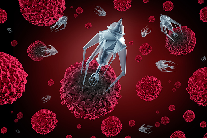 Are Nanorobots To Kill Cancer Cells in Our Near Future?
