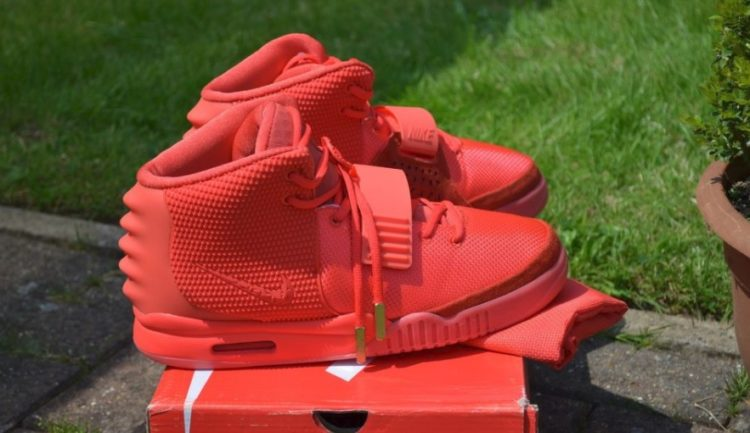 Price of Nike Air Yeezy NRG Wolf Grey shoes