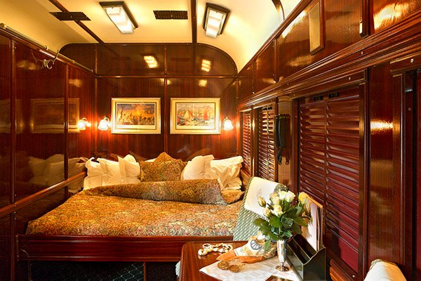 Five Luxurious Trains To Spoil You While You Travel