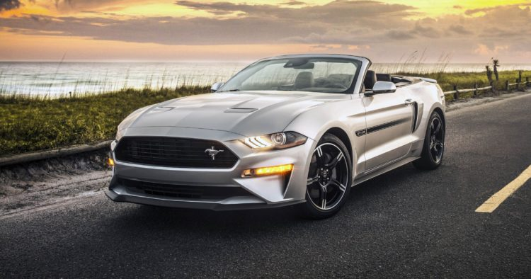 2016 Mustang Colors >> A Closer Look At The 2019 Ford Mustang Gt California Special