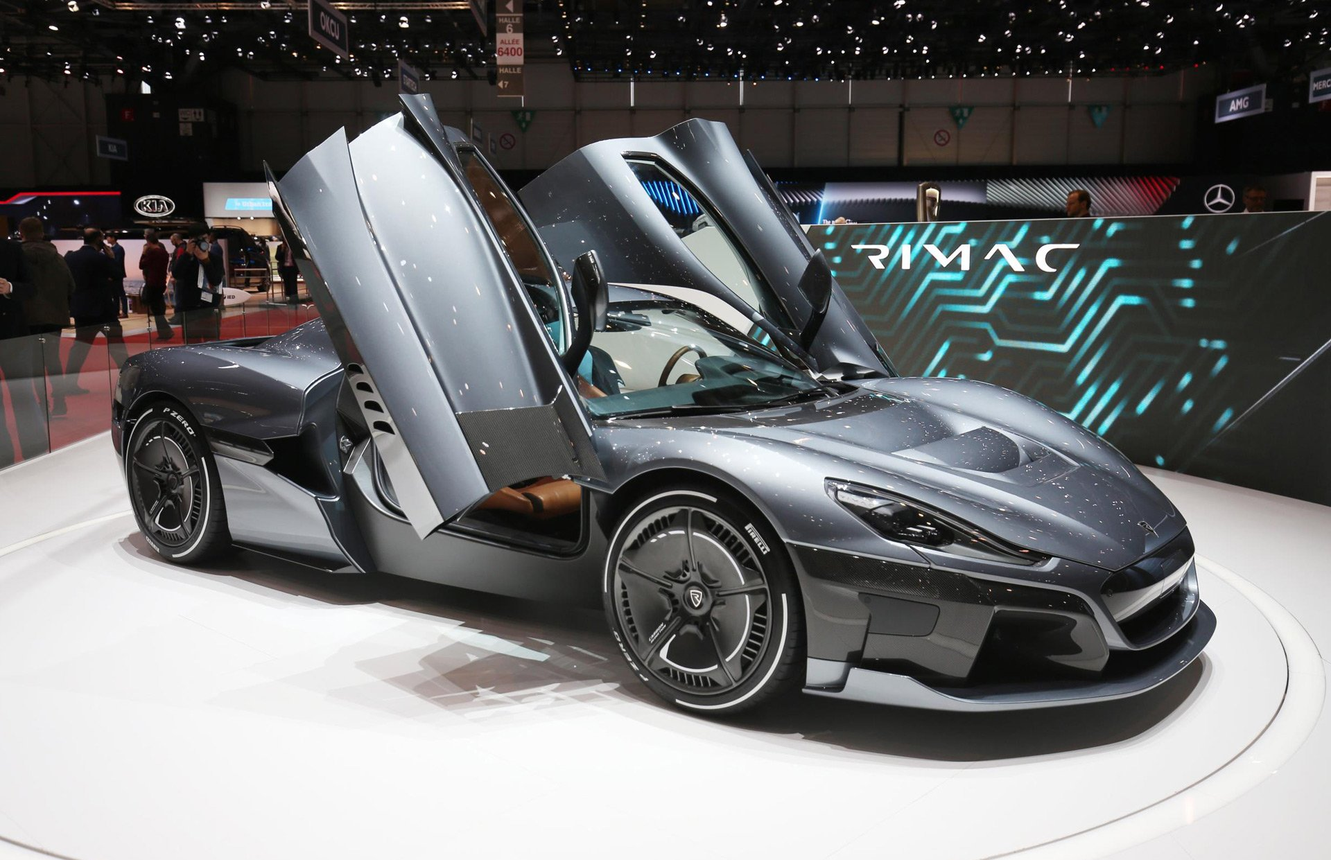a closer look at the rimac c two electric supercar. Black Bedroom Furniture Sets. Home Design Ideas