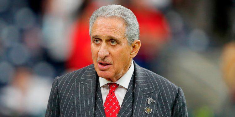 Atlanta Falcons Owner Arthur Blank