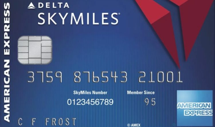 Blue Delta SkyMiles credit card