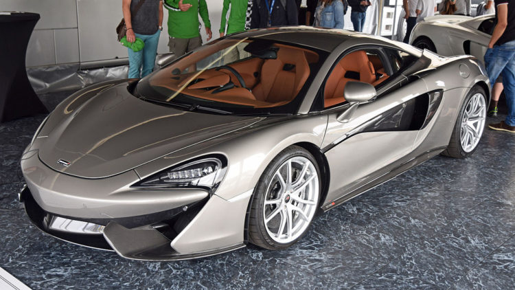 the history and evolution of the mclaren 570s